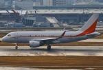 あしゅーさんが、福岡空港で撮影したSKテレコム A319-115CJの航空フォト(飛行機 写真・画像)
