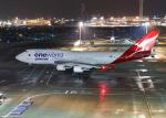 銀苺さんが、羽田空港で撮影したカンタス航空 747-438/ERの航空フォト(飛行機 写真・画像)