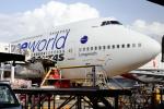 安芸あすかさんが、メルボルン空港で撮影したカンタス航空 747-438/ERの航空フォト(飛行機 写真・画像)