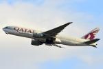 蒼くまさんが、関西国際空港で撮影したカタール航空カーゴ 777-FDZの航空フォト(飛行機 写真・画像)