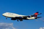 Frankspotterさんが、成田国際空港で撮影したデルタ航空 747-451の航空フォト(飛行機 写真・画像)