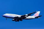 Frankspotterさんが、成田国際空港で撮影したチャイナエアライン 747-409の航空フォト(飛行機 写真・画像)