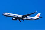 Frankspotterさんが、成田国際空港で撮影した中国国際航空 A330-343Xの航空フォト(飛行機 写真・画像)