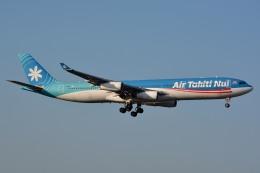 サンドバンクさんが、成田国際空港で撮影したエア・タヒチ・ヌイ A340-313Xの航空フォト(飛行機 写真・画像)
