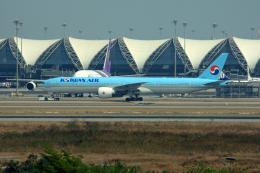 tsubameさんが、スワンナプーム国際空港で撮影した大韓航空 777-3B5/ERの航空フォト(飛行機 写真・画像)