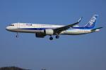 ピーチさんが、岡山空港で撮影した全日空 A321-272Nの航空フォト(飛行機 写真・画像)