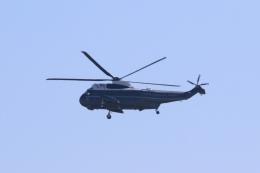 Hiro-hiroさんが、横田基地で撮影したアメリカ海兵隊 VH-3D Sea King (S-61B)の航空フォト(飛行機 写真・画像)