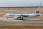 PW4090さんが、関西国際空港で撮影した日本トランスオーシャン航空 737-8Q3の航空フォト(飛行機 写真・画像)