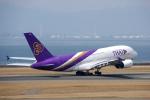 yabyanさんが、中部国際空港で撮影したタイ国際航空 A380-841の航空フォト(飛行機 写真・画像)
