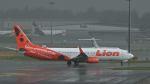 オキシドールさんが、シンガポール・チャンギ国際空港で撮影したライオン・エア 737-9GP/ERの航空フォト(飛行機 写真・画像)