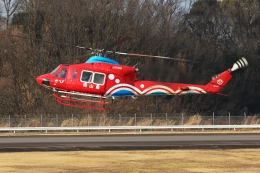ぽんさんが、高松空港で撮影した岡山県消防防災航空隊 412EPの航空フォト(飛行機 写真・画像)