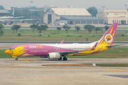 SGさんが、ドンムアン空港で撮影したノックエア 737-86Nの航空フォト(飛行機 写真・画像)