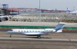 ハム太郎。さんが、羽田空港で撮影した不明 Gulfstream G650 (G-VI)の航空フォト(飛行機 写真・画像)