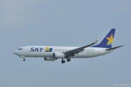 やまちゃんKさんが、那覇空港で撮影したスカイマーク 737-8HXの航空フォト(飛行機 写真・画像)