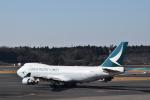 ポークさんが、成田国際空港で撮影したキャセイパシフィック航空 747-467F/ER/SCDの航空フォト(飛行機 写真・画像)