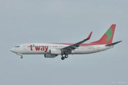 やまちゃんKさんが、那覇空港で撮影したティーウェイ航空 737-8Q8の航空フォト(飛行機 写真・画像)