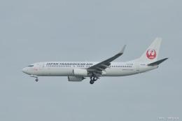 やまちゃんKさんが、那覇空港で撮影した日本トランスオーシャン航空 737-8Q3の航空フォト(飛行機 写真・画像)