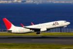 こだしさんが、羽田空港で撮影したJALエクスプレス 737-846の航空フォト(飛行機 写真・画像)