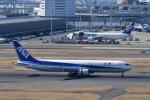 ぬま_FJHさんが、羽田空港で撮影した全日空 767-381/ERの航空フォト(飛行機 写真・画像)