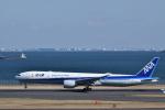 ぬま_FJHさんが、羽田空港で撮影した全日空 777-381/ERの航空フォト(飛行機 写真・画像)