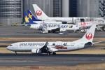 ぬま_FJHさんが、羽田空港で撮影した日本トランスオーシャン航空 737-8Q3の航空フォト(飛行機 写真・画像)