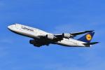 beimax55さんが、羽田空港で撮影したルフトハンザドイツ航空 747-830の航空フォト(飛行機 写真・画像)