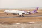 BELL602さんが、新潟空港で撮影したタイ国際航空 A330-343Xの航空フォト(飛行機 写真・画像)