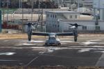 アマツさんが、仙台空港で撮影したアメリカ海兵隊 MV-22Bの航空フォト(飛行機 写真・画像)