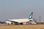 Tango Alphaさんが、成田国際空港で撮影したキャセイパシフィック航空 777-367の航空フォト(飛行機 写真・画像)