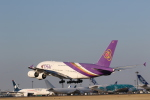 Tango Alphaさんが、成田国際空港で撮影したタイ国際航空 A380-841の航空フォト(飛行機 写真・画像)