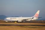MIRAGE E.Rさんが、出雲空港で撮影したチャイナエアライン 737-8Q8の航空フォト(飛行機 写真・画像)
