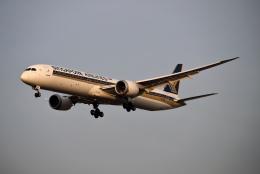 MOHICANさんが、福岡空港で撮影したシンガポール航空 787-10の航空フォト(飛行機 写真・画像)