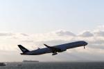 GRX135さんが、中部国際空港で撮影したキャセイパシフィック航空 A350-1041の航空フォト(飛行機 写真・画像)