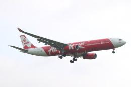 エアさんが、成田国際空港で撮影したインドネシア・エアアジア・エックス A330-343Xの航空フォト(飛行機 写真・画像)