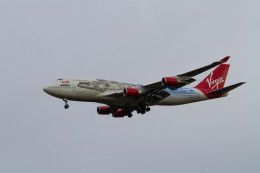 jombohさんが、ロンドン・ガトウィック空港で撮影したヴァージン・アトランティック航空 747-443の航空フォト(飛行機 写真・画像)