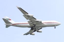 デルさんが、羽田空港で撮影したドバイ・ロイヤル・エア・ウィング 747-422の航空フォト(飛行機 写真・画像)