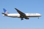 エアさんが、成田国際空港で撮影したユナイテッド航空 777-222/ERの航空フォト(飛行機 写真・画像)