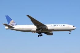 デルさんが、成田国際空港で撮影したユナイテッド航空 777-222/ERの航空フォト(飛行機 写真・画像)