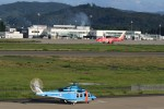 HNANA787さんが、花巻空港で撮影した福島県警察 AW139の航空フォト(飛行機 写真・画像)