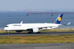 panchiさんが、羽田空港で撮影したルフトハンザドイツ航空 A350-941XWBの航空フォト(飛行機 写真・画像)