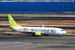 DVDさんが、羽田空港で撮影したソラシド エア 737-81Dの航空フォト(飛行機 写真・画像)