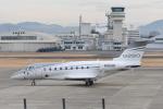tamtam3839さんが、名古屋飛行場で撮影したガルフストリーム・エアロスペース Gulfstream G280の航空フォト(飛行機 写真・画像)
