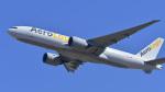 パンダさんが、成田国際空港で撮影したエアロ・ロジック 777-FZNの航空フォト(飛行機 写真・画像)