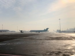 Smyth Newmanさんが、アルマトイ国際空港で撮影したベック・エア 100の航空フォト(飛行機 写真・画像)