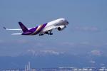 yabyanさんが、中部国際空港で撮影したタイ国際航空 A350-941の航空フォト(飛行機 写真・画像)