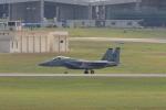 TAKAHIDEさんが、嘉手納飛行場で撮影したアメリカ空軍 F-15C-39-MC Eagleの航空フォト(飛行機 写真・画像)