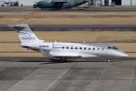 yabyanさんが、名古屋飛行場で撮影したガルフストリーム・エアロスペース Gulfstream G280の航空フォト(飛行機 写真・画像)