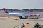 ちかぼーさんが、成田国際空港で撮影したスイスインターナショナルエアラインズ 777-3DE/ERの航空フォト(飛行機 写真・画像)