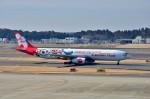 ちかぼーさんが、成田国際空港で撮影したエアアジア・エックス A330-343Xの航空フォト(飛行機 写真・画像)