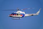 SFJ_capさんが、名古屋飛行場で撮影した国土交通省 地方整備局 412EPの航空フォト(飛行機 写真・画像)